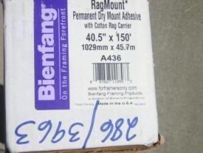 Bienfang RagMount Dry Mount Adhesive 2