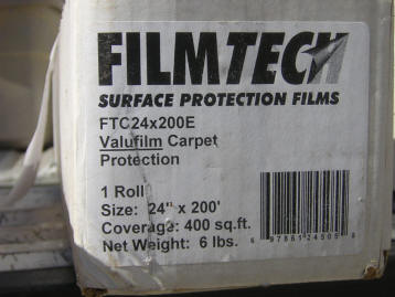 Film Tech Carpet Protection 2