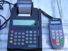 Verifone Credit Card Terminal : Printer : Pin Pad